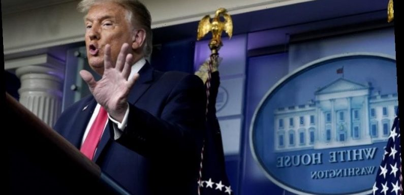 Trump Bristles When Asked Why He Lied About COVID-19