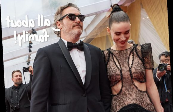 Joaquin Phoenix & Rooney Mara Welcome Their First Child & Name Him After The Actor's Late Brother!