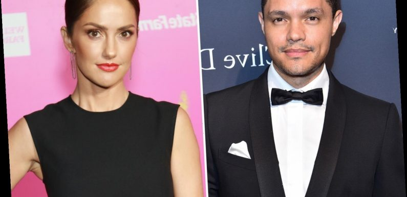 The Daily Show's Trevor Noah 'dating' Minka Kelly as source says they're 'very serious'
