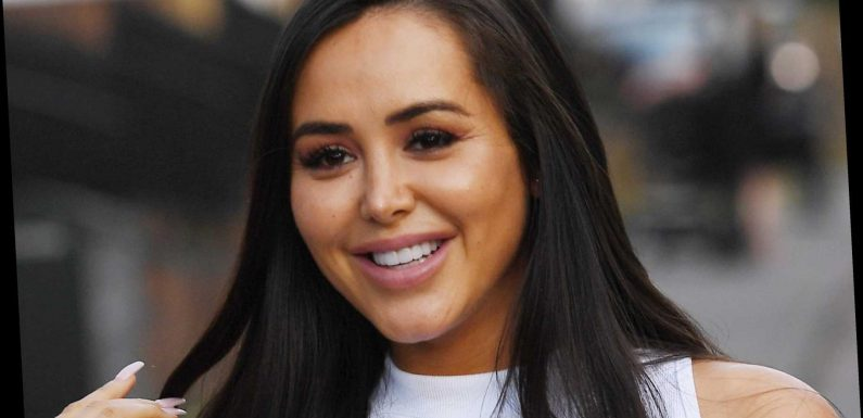 Marnie Simpson is pretty in pink as she launches new confectionery company