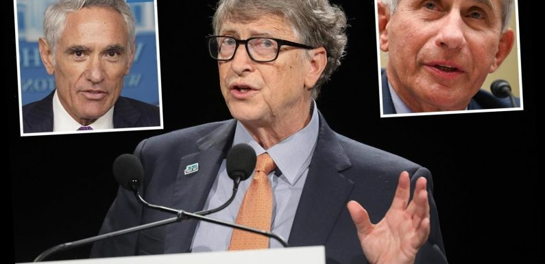 Bill Gates says Trump replaced Dr Fauci with Scott Atlas because he 'agrees with White House's crackpot Covid theories'