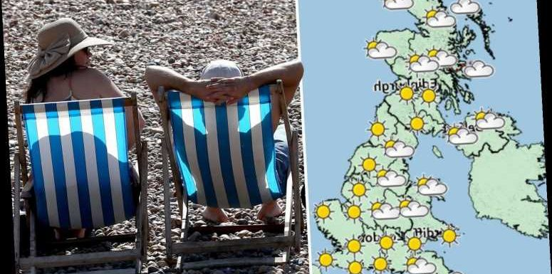 UK weather forecast – Britain to bask in 25C heat next week in one final blast of summer