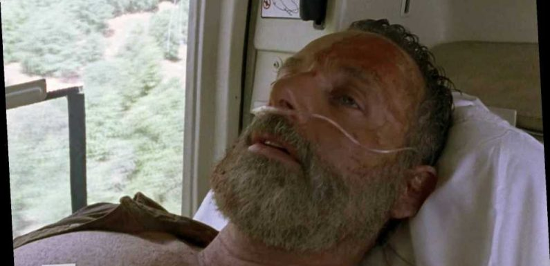The Walking Dead: World Beyond boss promises answers about where Rick Grimes was taken after helicopter rescue