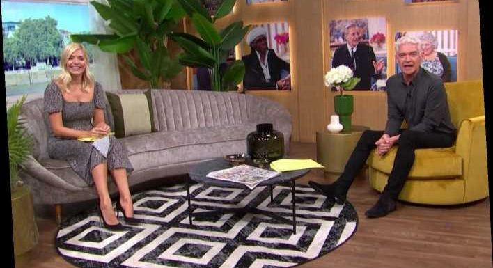 This Morning's Holly Willoughby and Phillip Schofield reveal new sofas as they return after makeover from Kelly Hoppen