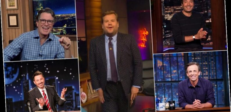 Late-Night Laughs: How Colbert, Corden, Fallon, Kimmel & Meyers Returned To The Studio, Is Emmy Variety Talk Category Fair & Who Are Field's Rising Stars