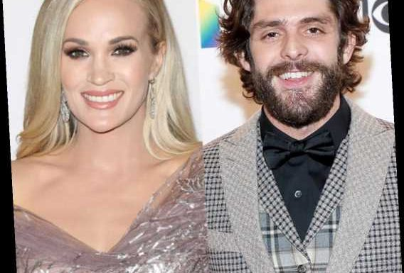 Carrie Underwood and Thomas Rhett Make 2020 ACM Awards History By Tying for Entertainer of the Year