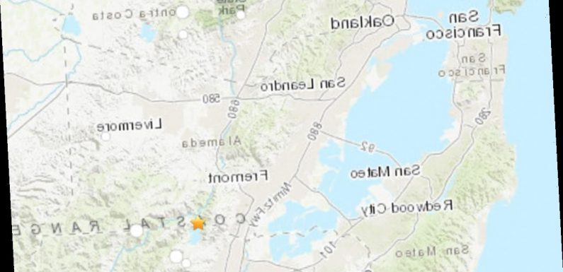 Twin earthquakes rattle San Francisco Bay Area after tremors in Milpitas