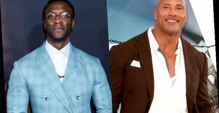 Dwayne Johnson Recounts Being Told Off by Aldis Hodge Over 'Black Adam' Casting News
