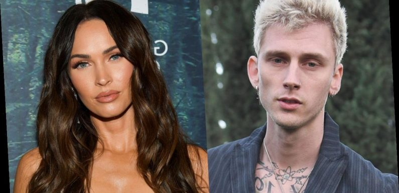 Megan Fox and Machine Gun Kelly React to Hearing His Song on the Radio