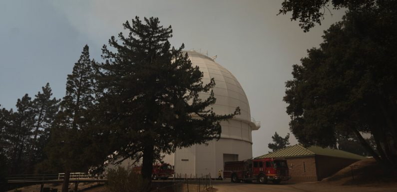 Mount Wilson Observatory Survives a Trial by Fire