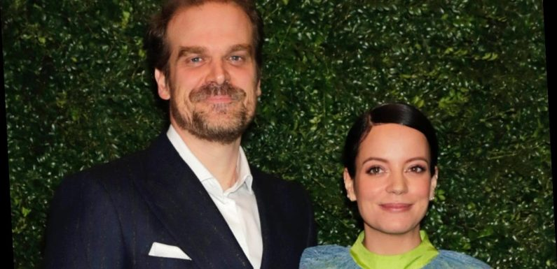 David Harbour and Lily Allen Marry in Las Vegas: Pics