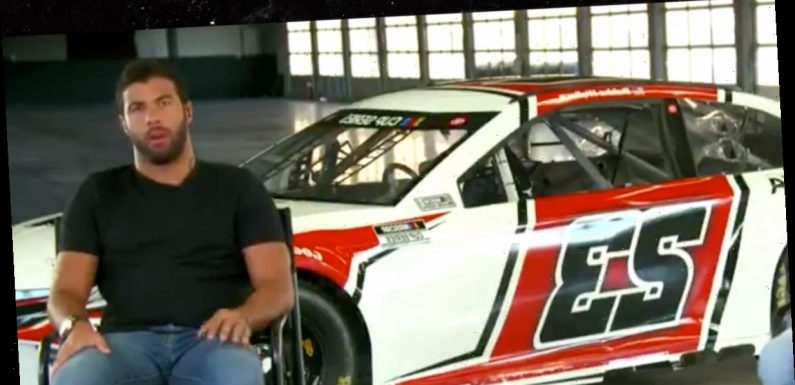 Bubba Wallace Unveils New Michael Jordan-Owned Race Car, Black & Red #23!