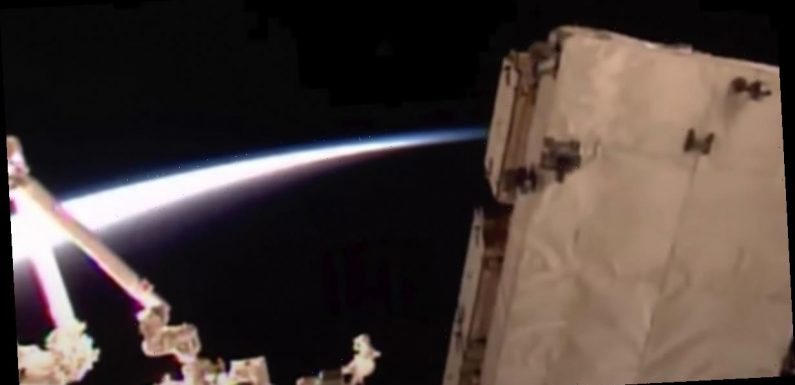 Mystery as ISS cameras capture flashing 'multi-coloured' object above Earth