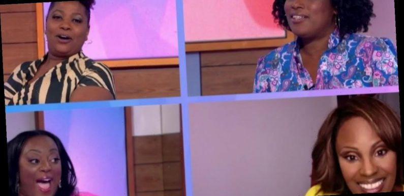 Judi Love breaks down in tears as Loose Women make history with first all-black panel