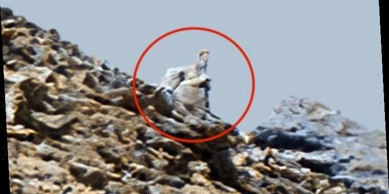 Life on Mars: UFO hunter spots a 'statue' on Mars and claims it's '100% proof of aliens'