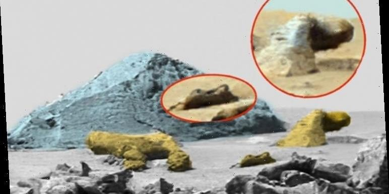Alien news: Holy site including ancient pyramid found on Mars – claim