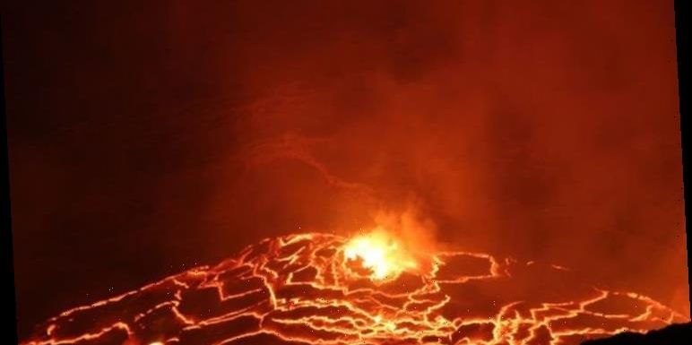 African volcano lava rising at rapid rate in DISASTER warning – 'Most dangerous in world!'