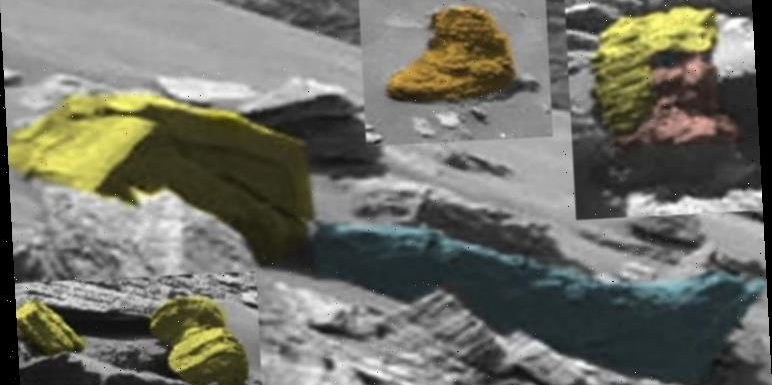 Life on Mars: UFO hunter thinks he found a 'demon face' and 'ancient temple' built by ETs