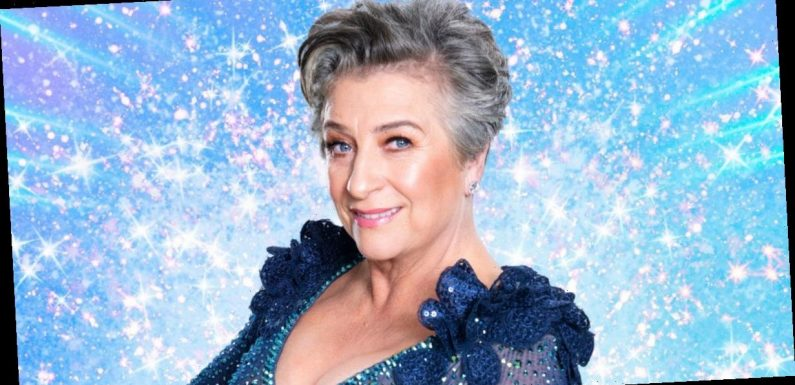 Caroline Quentin worried about boobs 'falling out of skimpy' Strictly outfits