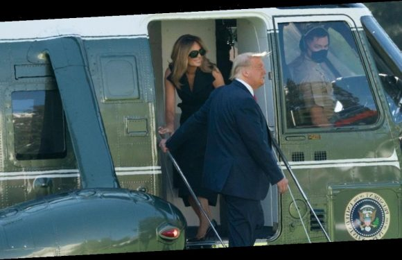 Melania Trump 'body double' conspiracy explodes with photo outside White House