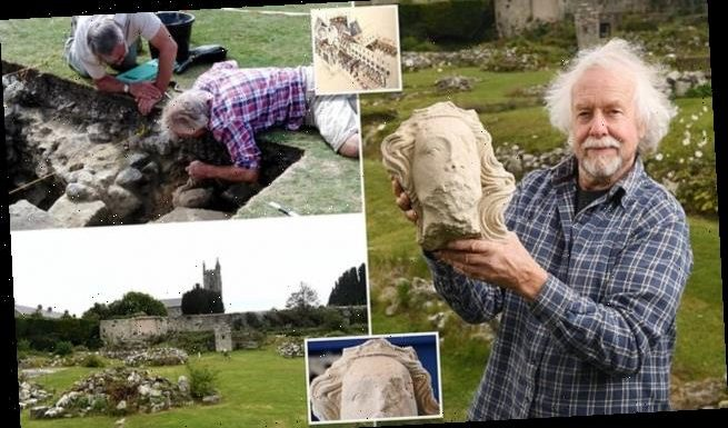 700-year-old stone head likely of King Edward II unearthed in Dorset