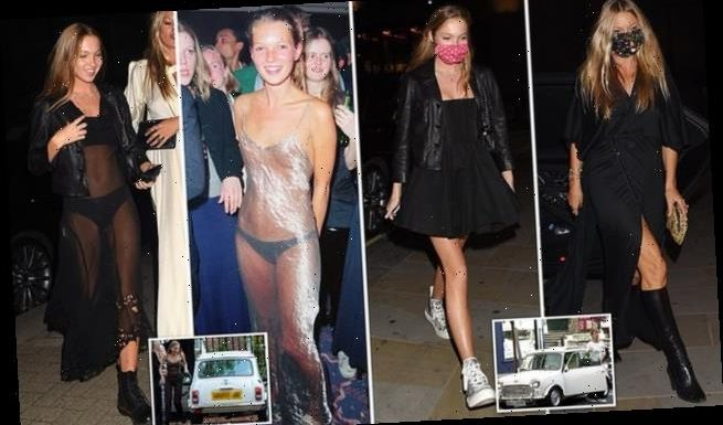Kate Moss trains her daughter to become the next supermodel