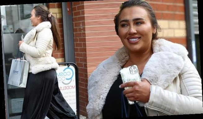 Lauren Goodger steps out after dating Katie Price's ex Charles Drury