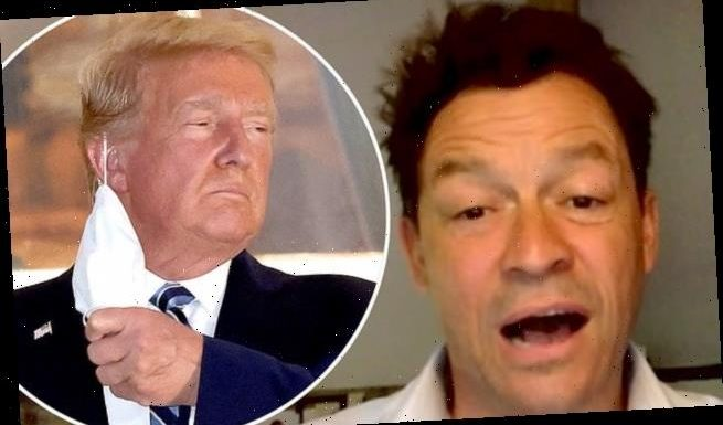 GMB hit by Ofcom complaints after Dominic West's Trump comments