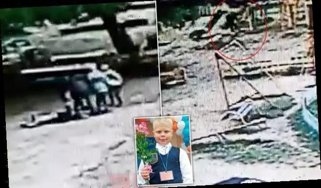 Russian boy, nine, killed after he is thrown from a playground swing