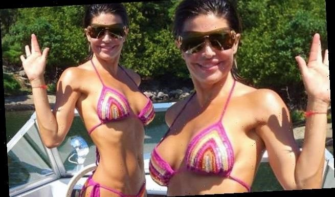 Lisa Rinna shares bikini photo while joking voting helps her stay fit