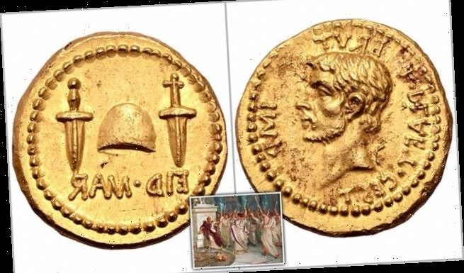 Rare Roman gold coin expected to fetch 'up to £5 MILLION' at auction