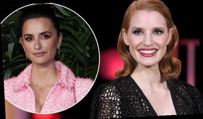 Jessica Chastain explains casting of Penelope Cruz in Colombian role