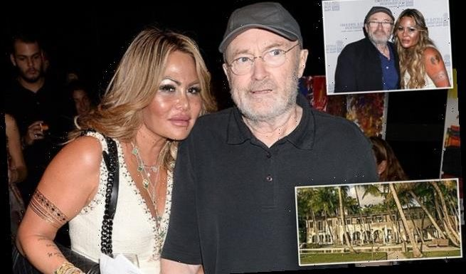 Phil Collins 'plans to evict his ex Orianne Cevey from his Miami home'
