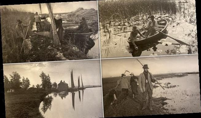 Images of Victorians in Norfolk Broads in 1886 photos to fetch £50,000