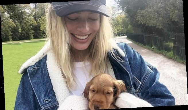 Margot Robbie unveils her brand new puppy in latest Instagram snapshot