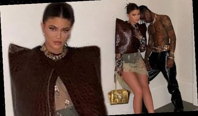 Kylie Jenner and Travis Scott play 'dress up' in flirty Instagram pics