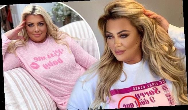 Fans poke fun at Gemma Collins after error spotted on her sweatshirt