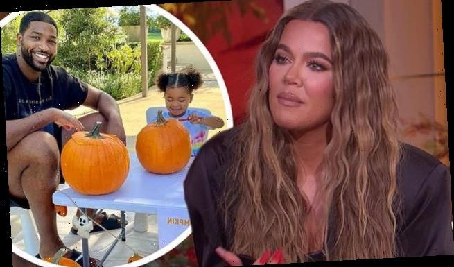 Khloe Kardashian talks about the struggle of co-parenting True