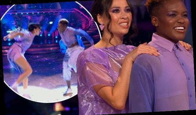 Strictly's Max and Dianne kick start the show with an energetic jive