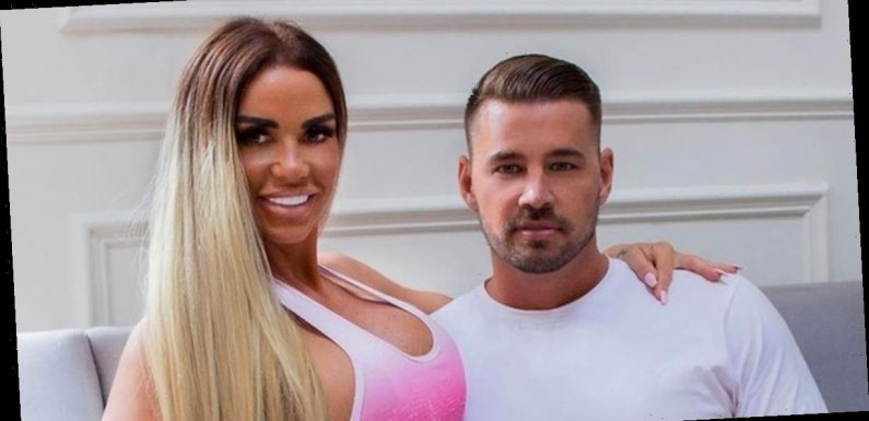 Katie Price's man Carl Woods 'holds her over sink to pee' after she broke feet