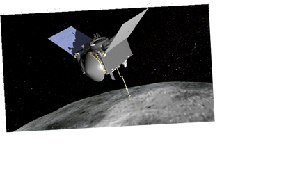 '4 1/2 hours of mild anxiousness': US spacecraft nears asteroid surface