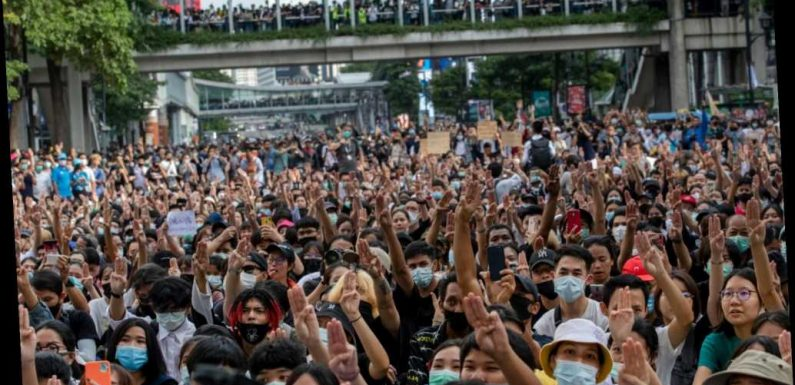 Thailand declares emergency after unprecedented protest