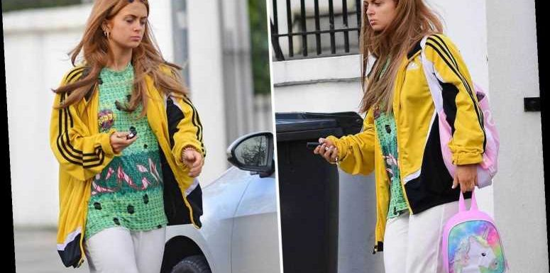 Strictly's Maisie Smith ditches her dancefloor glamour and goes makeup-free as she heads to rehearsals