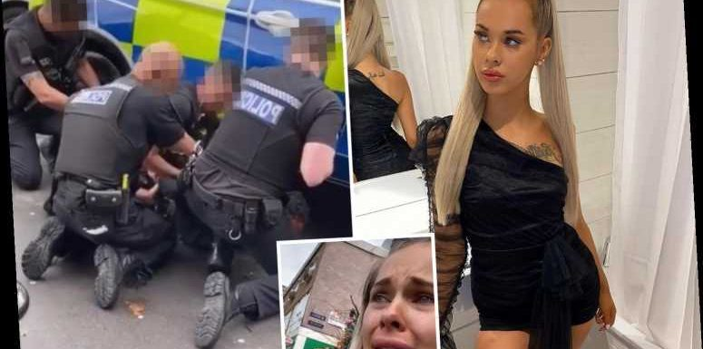 Blogger's black boyfriend 'pepper-sprayed and arrested over car theft by cops hunting WHITE man'