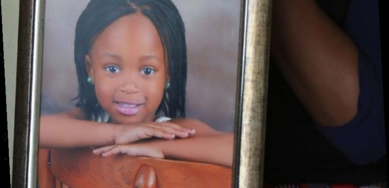 Six-year-old girl is raped, stabbed to death and dumped naked in bushes after popping to shop to buy sweets
