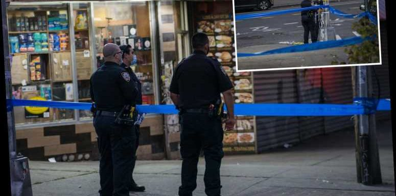 Violent New York City weekend leaves two dead and more than a dozen shot as city sees crime surge