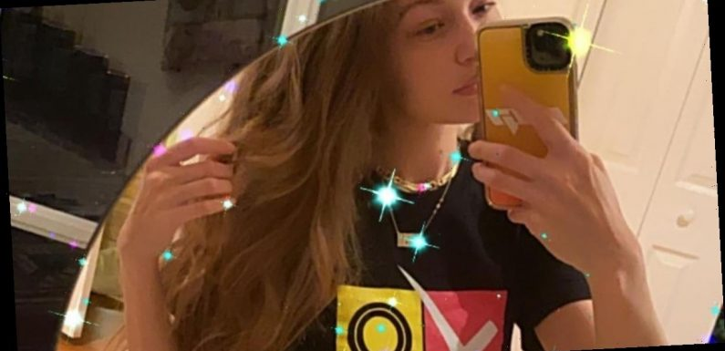 New Mom Gigi Hadid Reminds Us All to Vote With Her Cool, Retro T-Shirt