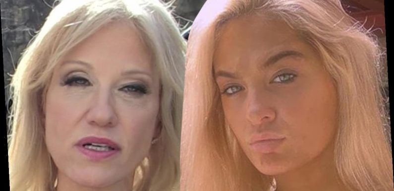 Claudia Conway Beefs with Kellyanne on TikTok, Seemingly Grounded