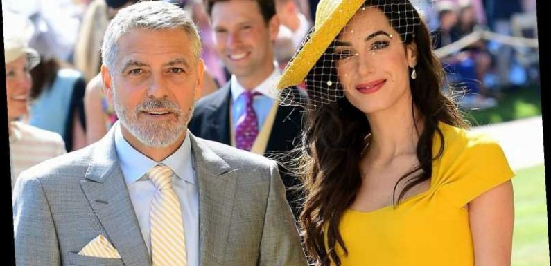 George and Amal Clooney confessed they 'didn't know' Meghan Markle & Prince Harry at Royal Wedding, insider claims