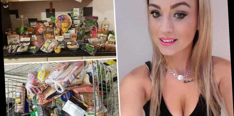 Savvy shopping means I buy £300 worth of Tesco food for just £40 every week- I eat like a Queen & here's how you can too